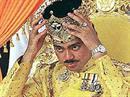 Prinz Ali Muhtadee Billah zahlte cash.