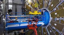 Der LHC-Teilchenbeschleuniger.