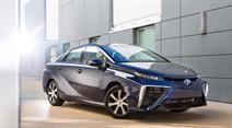 Das Brennstoffzellenauto «Mirai».