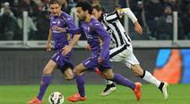Mohamed Salah erzielte für Fiorentina gleich zwei Treffer.