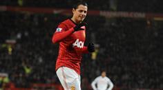 Javier Hernandez - hier noch im Manchester United Trikot.