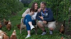 Tanja Gutmann und Manfred Baumann beim Click! Shooting.