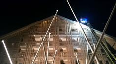 Brand im Dachstock des Hotels Chedi.