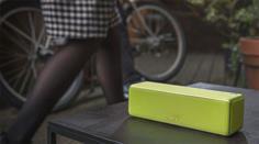 Sony h.ear go in Lime Yellow: Unübersehbar und auch unüberhörbar.