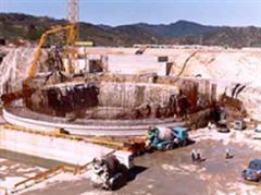 Hier wäre ein Reaktor für das Projekt gebaut werden sollen.