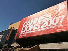 Internationales Werbefestival Cannes Lion 2007.