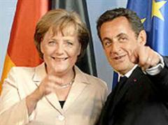Angela Merkel und Nicolas Sarkozy. (Archivbild)