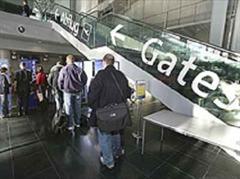 Abflughalle im EuroAirport Basel-Mulhouse.