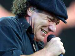 AC/DC-Sänger Brian Johnso.