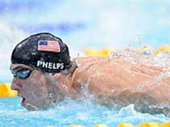 Michael Phelps zog das Publikum vor den TV.