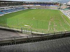 Das alte Hardturm-Stadion.