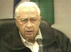 Israels Ministerpräsident Ariel Scharon.