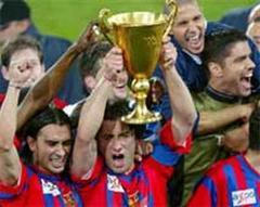 Der FCB feiert seinen Meistertitel.