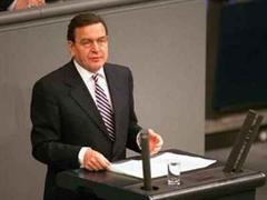 Gerhard Schröder glaubt an Lösung.