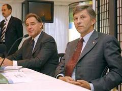 Interims-Präsident Walter A. Brunner und Zentralpräsident Rolf Dörig.