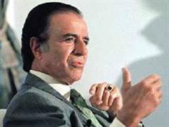 Wurde Ex-Staatschef Carlos Menem geschmiert?