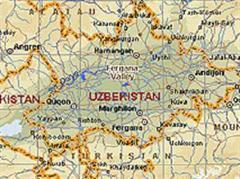 Das Fergana-Tal liegt im Zentrum Usbekistans.