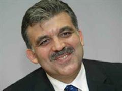 Der türkische Aussenminister Abdullah Gül.
