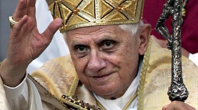 Papst  Benedikt XVI. (Archiv).