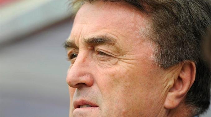 Serben-Coach Radomir Antic.
