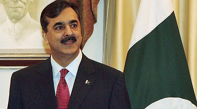 Der pakistanische Ministerpräsident Syed Yusuf Raza Gilani.