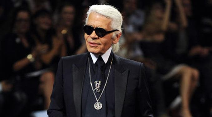 Mode-Zar Karl Lagerfeld.