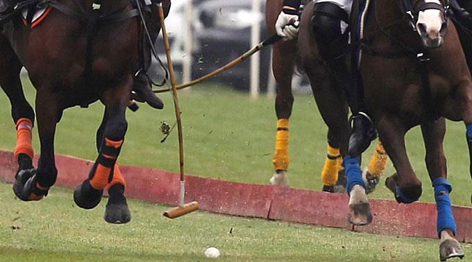 Drei statt vier Teams statt am Polo Gold Cup in Gstaad.