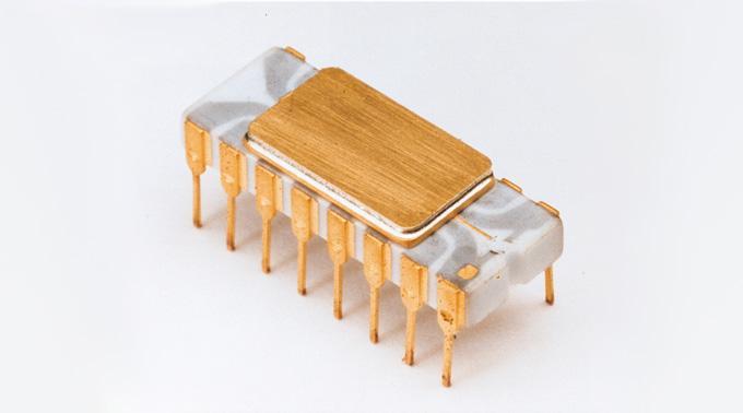 Geburtstagskind Intel 4004.