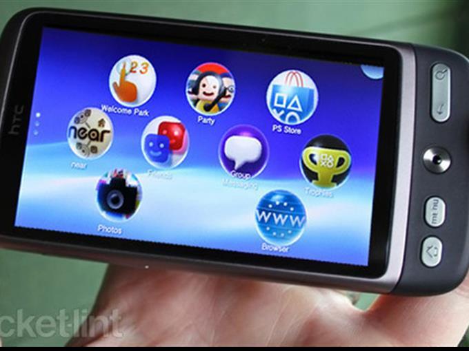 HTC Vita mit Playstation-Zertifizierung.