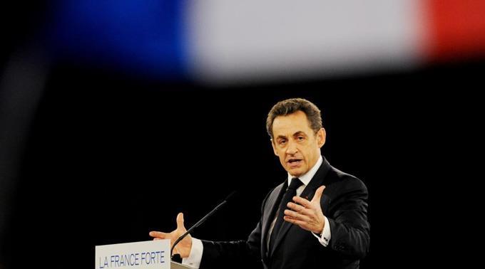 Staatschef Nicolas Sarkozy.
