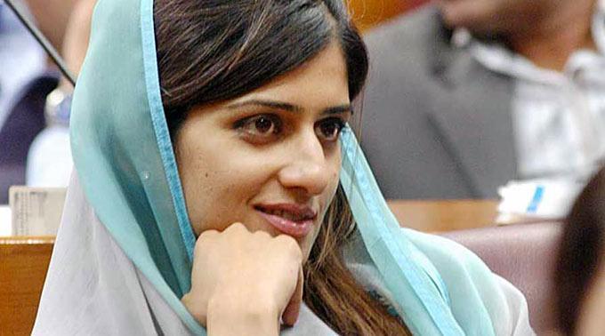 Die pakistanische Aussenministerin Hina Rabbani Khar.