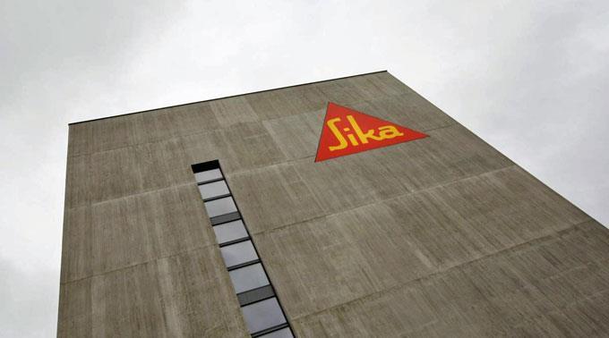 Sika präsentiert Rekordergebnis.