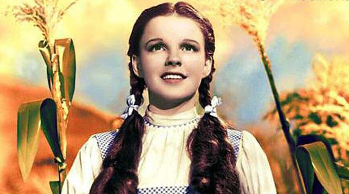 Judy Garland in «Wizard of Oz».