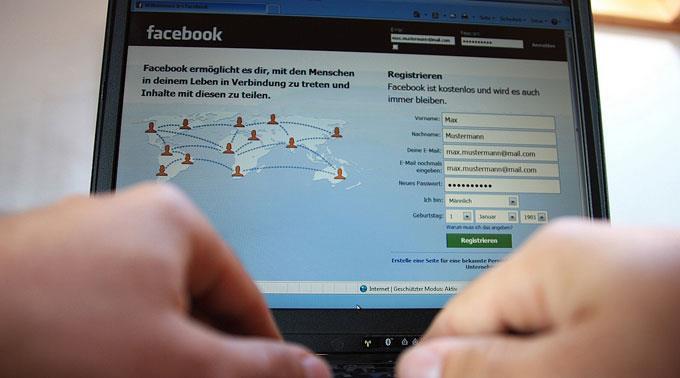 Facebook, das weltweit grösste Social Network.