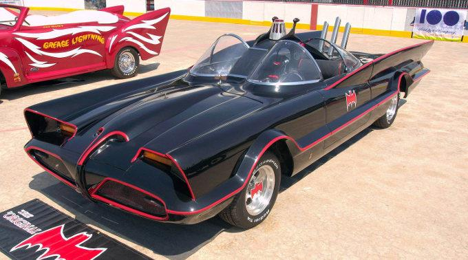 Batmobil aus den 1960er-Jahren