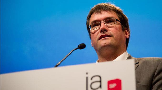 SP-Parteipräsident Christian Levrat
