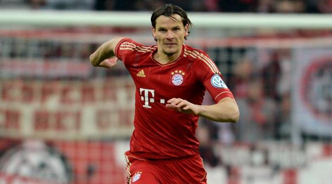 Daniel van Buyten - hier im Bayern München Trikot. (Archivbild)
