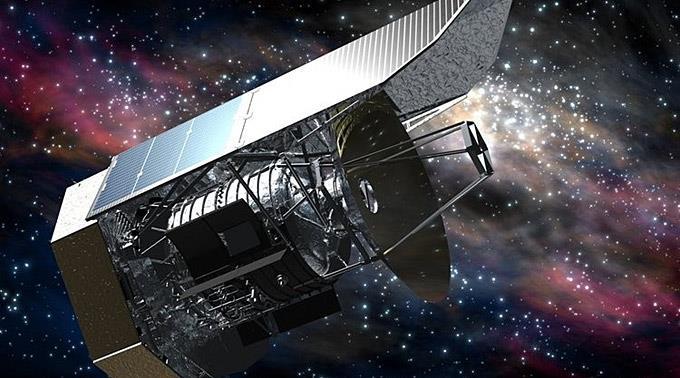 Das Weltraumteleskop «Herschel».