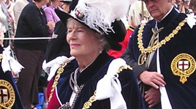 Mary Soames im Juni 2006.