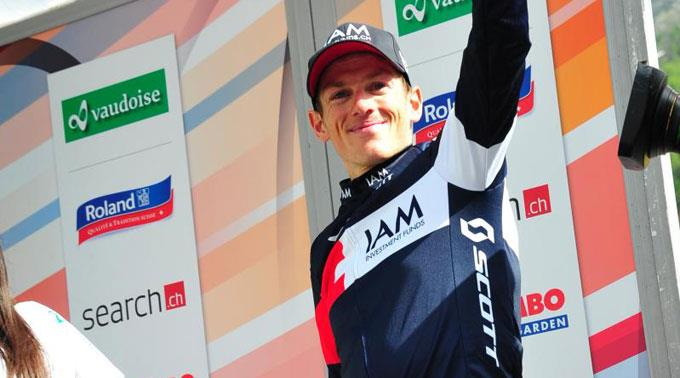 Mathias Frank verpasste den Gesamtsieg an der Tour de Suisse um nur 33 Sekunden.