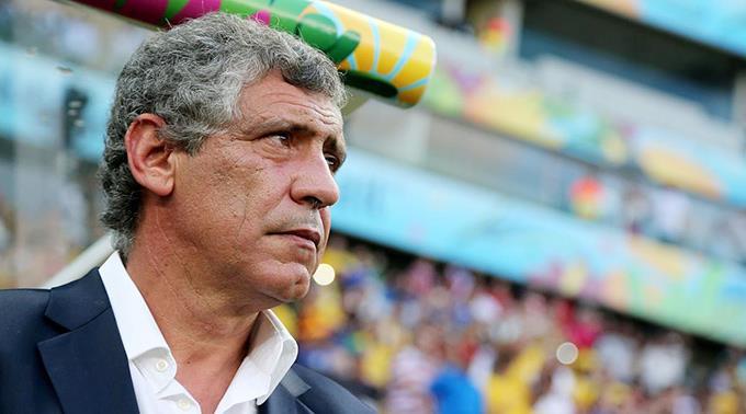 Trainer Fernando Santos.