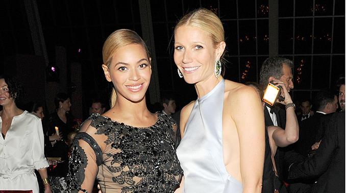 Beyoncé Knowles und Gwyneth Paltrow.