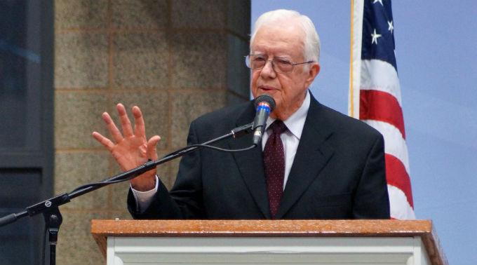 Jimmy Carter ist schwer krank.