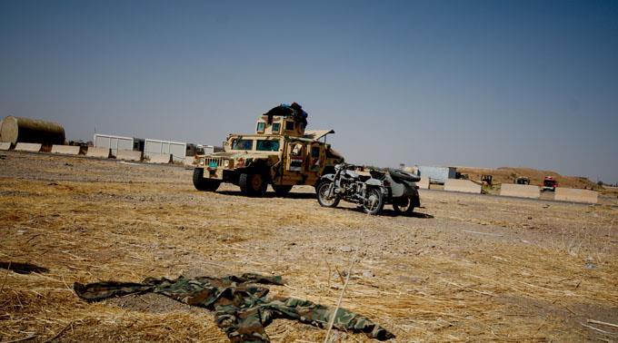 Der IS ist auf dem Rückzug.