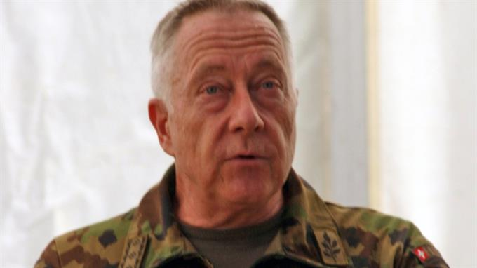 Armeechef Blattmann: bedenklicher Umgang mit demokratischen Grundrechten.